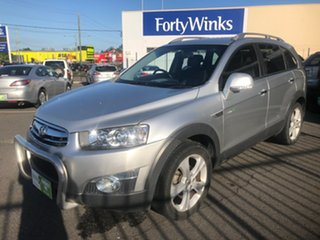 2011 Holden Captiva CG Series II 7 LX (4x4) Silver 6 Speed Automatic Wagon