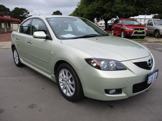 2008 Mazda 3 A Maxx Sport Gold 4 Speed Automatic Sedan.
