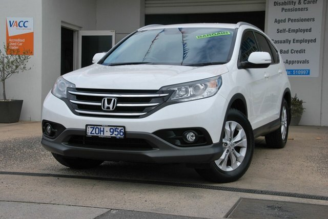 Used Honda CR-V 30 VTi-S (4x4) Wendouree, 2012 Honda CR-V 30 VTi-S (4x4) White 5 Speed Automatic Wagon