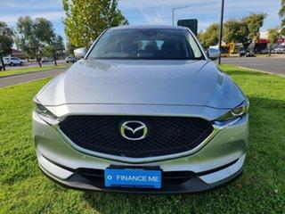 2018 Mazda CX-5 KF4WLA Maxx SKYACTIV-Drive i-ACTIV AWD Sonic Silver 6 Speed Sports Automatic Wagon