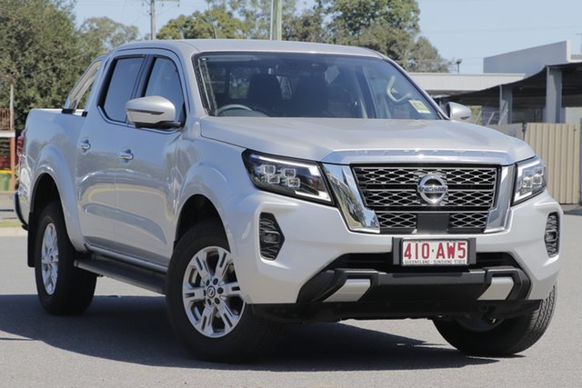 Demo Nissan Navara D23 MY21 ST 4x2 Bundamba, 2021 Nissan Navara D23 MY21 ST 4x2 Brilliant Silver 7 Speed Sports Automatic Utility