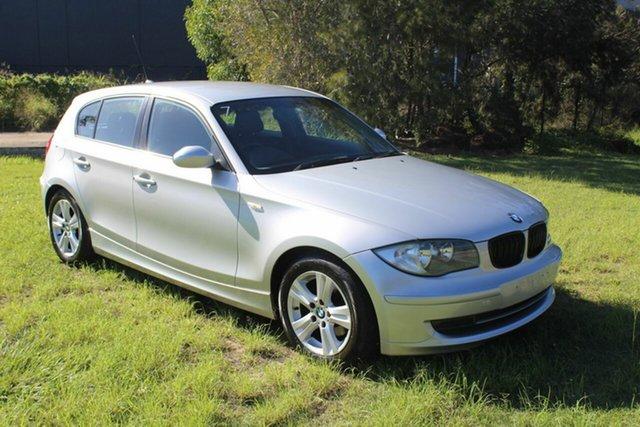 Used BMW 118i E87 118i Ormeau, 2007 BMW 118i E87 118i Silver 6 Speed Automatic Hatchback
