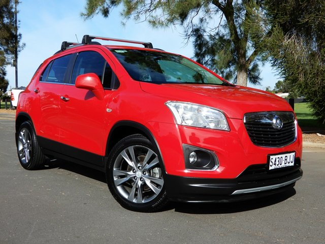 Used Holden Trax TJ MY16 LTZ Glenelg, 2016 Holden Trax TJ MY16 LTZ Red 6 Speed Automatic Wagon