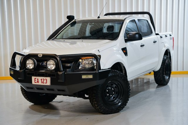 Used Ford Ranger PX XL Hendra, 2013 Ford Ranger PX XL White 6 Speed Sports Automatic Utility