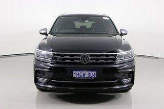 2018 Volkswagen Tiguan 5NA MY19 Allspace 162 TSI Highline Black 7 Speed Auto Direct Shift Wagon.