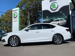 2021 Skoda Octavia NX MY21 110TSI Sedan Style White 8 Speed Automatic Liftback
