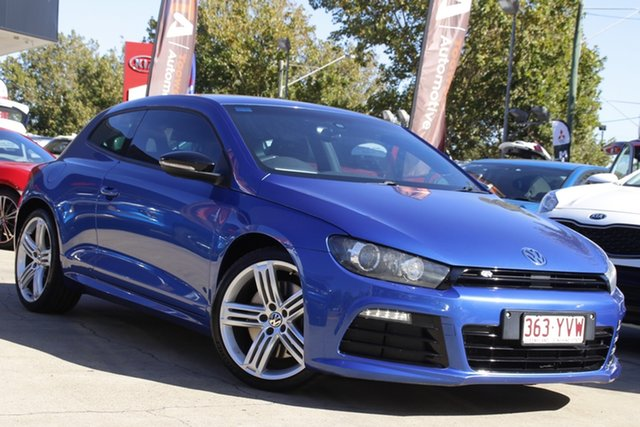 Used Volkswagen Scirocco 1S MY14 R Coupe DSG Toowoomba, 2013 Volkswagen Scirocco 1S MY14 R Coupe DSG Blue 6 Speed Sports Automatic Dual Clutch Hatchback