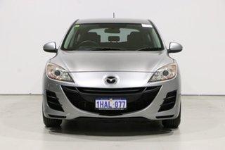 2010 Mazda 3 BL 10 Upgrade Neo Silver 6 Speed Manual Hatchback.