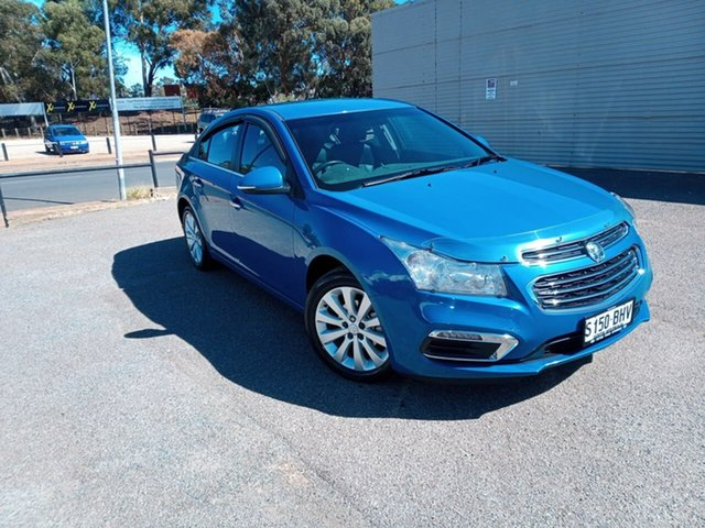 Used Holden Cruze JH Series II MY15 CDX Elizabeth, 2015 Holden Cruze JH Series II MY15 CDX Blue 6 Speed Sports Automatic Sedan
