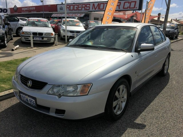 Used Holden Commodore VY II Equipe Victoria Park, 2004 Holden Commodore VY II Equipe Silver 4 Speed Automatic Sedan