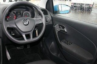2015 Volkswagen Polo 6R MY15 66TSI DSG Trendline Blue 7 Speed Sports Automatic Dual Clutch Hatchback
