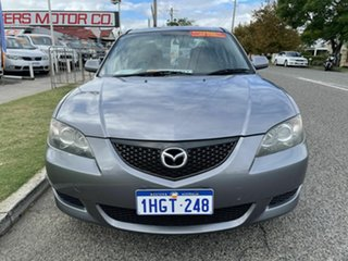 2005 Mazda 3 BK Neo Grey 4 Speed Auto Activematic Sedan.