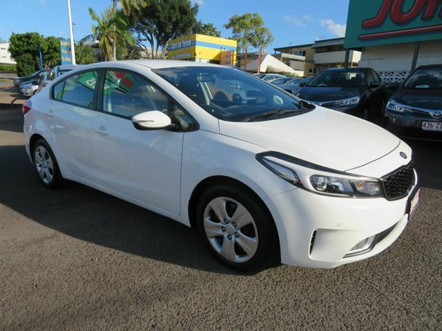 Used Kia Cerato BD MY19 S Mount Gravatt, 2018 Kia Cerato BD MY19 S White 6 Speed Sports Automatic Sedan