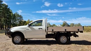 2018 Mitsubishi Triton MQ MY18 GLX 4x2 White 5 Speed Manual Cab Chassis