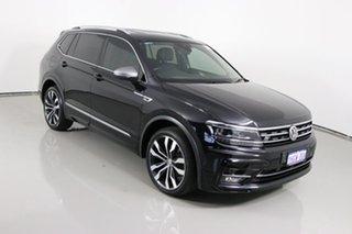 2018 Volkswagen Tiguan 5NA MY19 Allspace 162 TSI Highline Black 7 Speed Auto Direct Shift Wagon