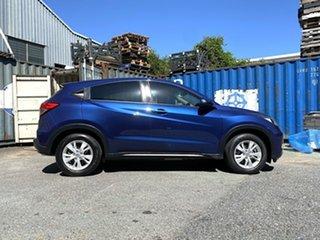 2015 Honda HR-V MY15 VTi Blue 1 Speed Constant Variable Hatchback.
