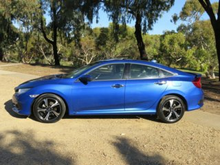 2016 Honda Civic 10th Gen MY16 RS Blue 1 Speed Constant Variable Sedan