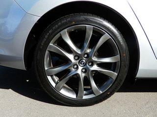 2016 Mazda 6 GL1031 Atenza SKYACTIV-Drive Silver 6 Speed Sports Automatic Sedan