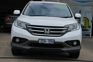 2012 Honda CR-V 30 VTi-S (4x4) White 5 Speed Automatic Wagon.
