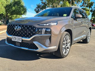 2021 Hyundai Santa Fe Tm.v3 MY21 Highlander DCT Taiga Brown 8 Speed Sports Automatic Dual Clutch
