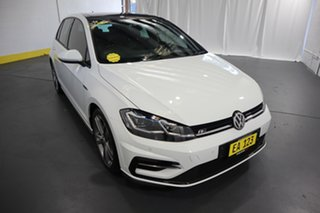 2017 Volkswagen Golf 7.5 MY17 110TSI DSG Highline White 7 Speed Sports Automatic Dual Clutch.