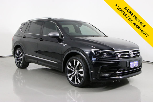 Used Volkswagen Tiguan 5NA MY19 Allspace 162 TSI Highline Bentley, 2018 Volkswagen Tiguan 5NA MY19 Allspace 162 TSI Highline Black 7 Speed Auto Direct Shift Wagon