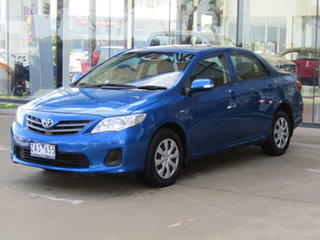 2012 Toyota Corolla ZRE152R MY11 Ascent Sport Blue 4 Speed Automatic Sedan.