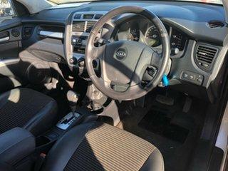 2005 Kia Sportage KM (4x4) Silver 4 Speed Tiptronic Wagon
