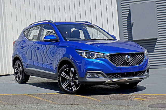 New MG ZS AZS1 MY21 Essence 2WD Springwood, 2020 MG ZS AZS1 MY21 Essence 2WD Blue 6 Speed Automatic Wagon