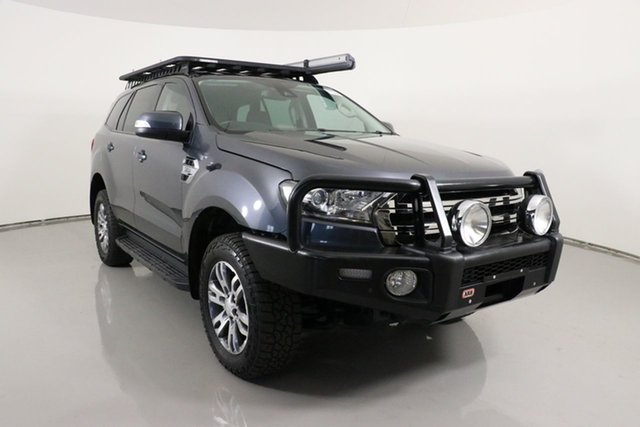 Used Ford Everest UA Trend Bentley, 2016 Ford Everest UA Trend Grey 6 Speed Automatic SUV