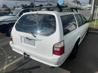 2007 Ford Falcon BF MkII XT White 4 Speed Auto Seq Sportshift Wagon.