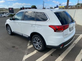 2016 Mitsubishi Outlander ZK MY17 LS 2WD Safety Pack White 6 Speed Constant Variable Wagon