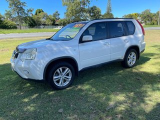 2011 Nissan X-Trail T31 Series IV ST 2WD White 6 Speed Manual Wagon.
