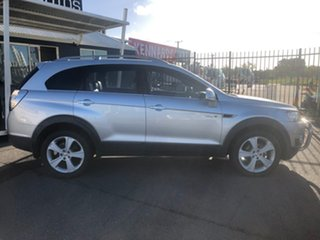 2011 Holden Captiva CG Series II 7 LX (4x4) Silver 6 Speed Automatic Wagon.