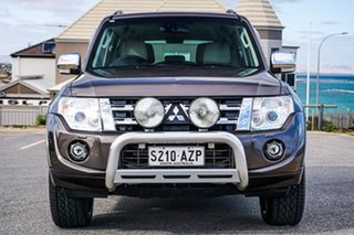 2013 Mitsubishi Pajero NW MY14 Exceed Brown 5 Speed Sports Automatic Wagon