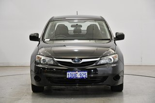 2011 Subaru Impreza G3 MY11 R AWD Special Edition Black 4 Speed Sports Automatic Sedan.