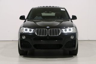 2017 BMW X4 F26 MY16 xDrive 35D Sapphire Black 8 Speed Automatic Coupe.