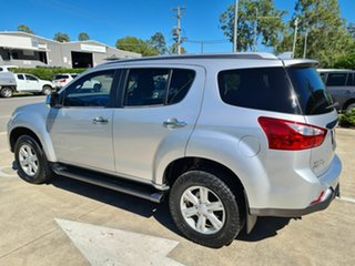 2016 Isuzu MU-X MY15 LS-T Rev-Tronic Silver 5 Speed Sports Automatic Wagon