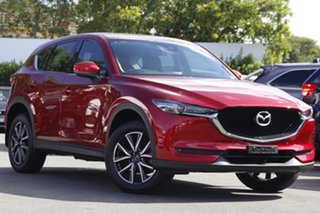 2017 Mazda CX-5 KF4WLA GT SKYACTIV-Drive i-ACTIV AWD Red 6 Speed Sports Automatic Wagon.