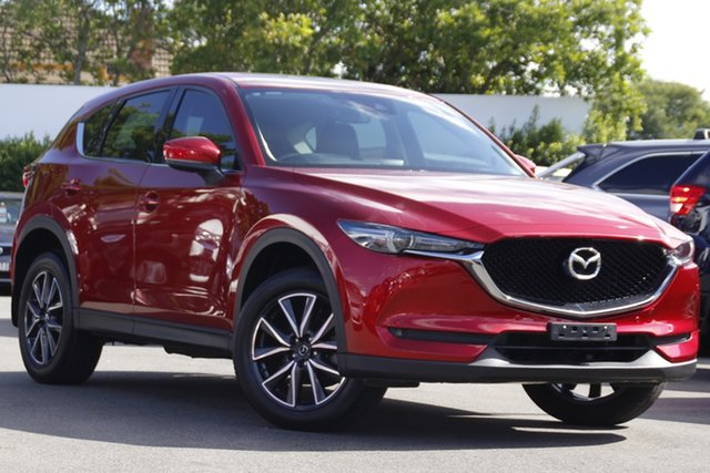 Used Mazda CX-5 KF4WLA GT SKYACTIV-Drive i-ACTIV AWD Mount Gravatt, 2017 Mazda CX-5 KF4WLA GT SKYACTIV-Drive i-ACTIV AWD Red 6 Speed Sports Automatic Wagon