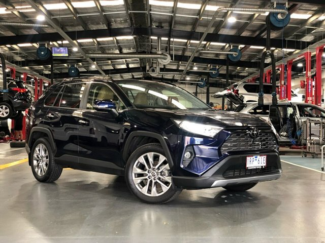 Pre-Owned Toyota RAV4 Mxaa52R Cruiser 2WD Oakleigh, 2020 Toyota RAV4 Mxaa52R Cruiser 2WD Saturn Blue 10 Speed Constant Variable Wagon
