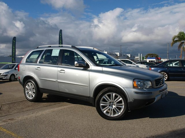 Used Volvo XC90 P28 MY11 Executive Geartronic Cheltenham, 2011 Volvo XC90 P28 MY11 Executive Geartronic Silver 6 Speed Sports Automatic Wagon