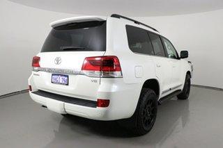 2016 Toyota Landcruiser VDJ200R MY16 Sahara (4x4) White 6 Speed Automatic Wagon