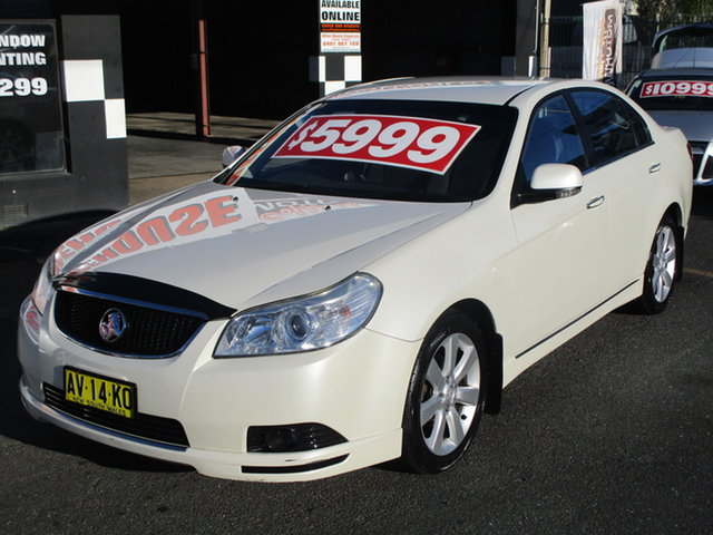 Used Holden Epica EP MY09 CDX Coffs Harbour, 2008 Holden Epica EP MY09 CDX Pearl White 6 Speed Automatic Sedan