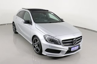 2015 Mercedes-Benz A200 176 MY15 BE Silver 7 Speed Automatic Hatchback
