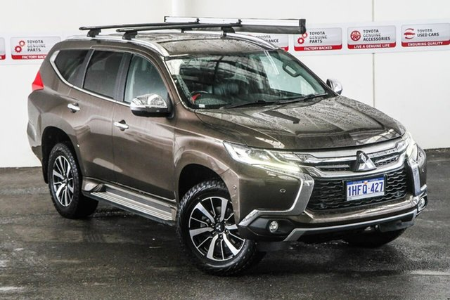Pre-Owned Mitsubishi Pajero Sport QE Exceed (4x4) Rockingham, 2016 Mitsubishi Pajero Sport QE Exceed (4x4) Brown 8 Speed Automatic Wagon