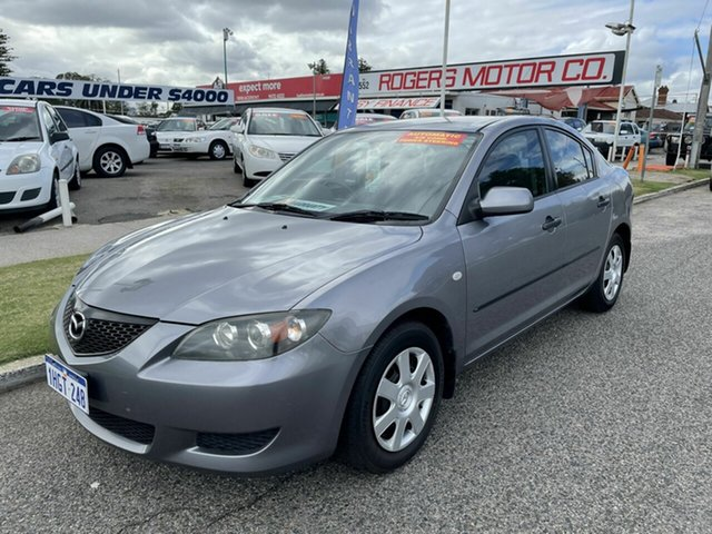 Used Mazda 3 BK Neo Victoria Park, 2005 Mazda 3 BK Neo Grey 4 Speed Auto Activematic Sedan