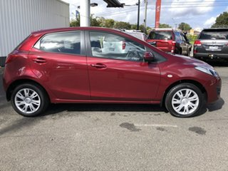 2011 Mazda 2 DE10Y1 MY11 Neo Red 4 Speed Automatic Hatchback.
