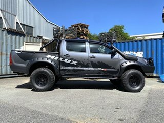 2011 Toyota Hilux KUN26R MY10 SR Grey 5 Speed Manual Cab Chassis.