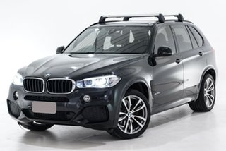 2016 BMW X5 F15 xDrive30d Black 8 Speed Sports Automatic Wagon.